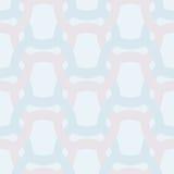 Abstract eenvoudig geometrisch naadloos vectorpatroon - ineengestrengeld col. vector illustratie