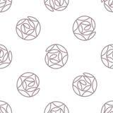 Abstract eenvoudig naadloos patroon als achtergrond Royalty-vrije Stock Foto's