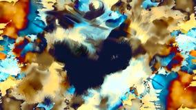 Abstract effect als achtergrond en kleuren, kleurenachtergrond Royalty-vrije Stock Afbeelding