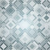 Abstract effort white background with squares and rectangles Royalty Free Stock Photography