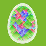 Abstract egg Stock Images