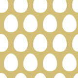 Abstract Eggs Seamless Pattern Royalty Free Stock Photography