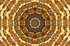 Abstract Egyptian art Stock Images