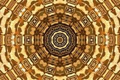 Abstract Egyptisch art. Stock Afbeeldingen