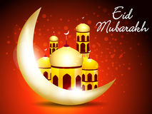 Abstract eid background Royalty Free Stock Images