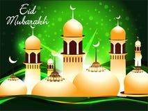 Abstract eid mubarakh background Royalty Free Stock Image