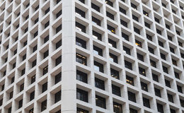 Abstract eigentijds architectuurfragment Royalty-vrije Stock Foto's