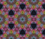 Abstract eindeloos patroon Royalty-vrije Stock Afbeeldingen