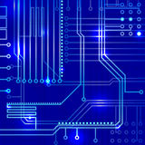 Abstract electronics background Royalty Free Stock Image