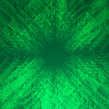 Abstract electronics green background Stock Photography