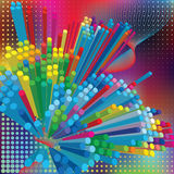 Abstract elegance background with dots Royalty Free Stock Photography