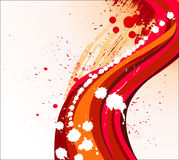 Abstract elegance illustration. Royalty Free Stock Image