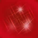 Abstract elegance red background with star Stock Photo