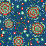 Abstract Elegance seamless floral pattern. Beautiful flower vector illustration texture Vector Illustration