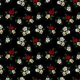 Abstract Elegance seamless floral pattern Royalty Free Stock Images