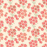 Abstract Elegance seamless floral pattern Stock Image