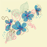 Abstract  Floral Background. Abstract Elegance Seamless pattern with floral background Stock Photos