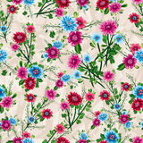Abstract Elegance Seamless pattern with floral background Royalty Free Stock Images