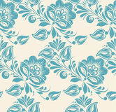 Abstract Elegance Seamless pattern with floral Royalty Free Stock Image