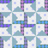 Abstract elegance seamless pattern patchwork background Royalty Free Stock Images
