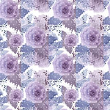 Abstract elegance seamless pattern with roses flowers background Royalty Free Stock Photography