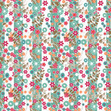 Abstract elegance seamless pattern with small flowers background Stock Image