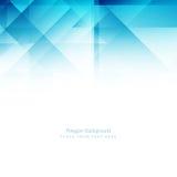 Abstract elegant blue modern polygonal background Stock Photos
