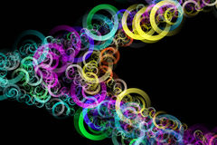 Abstract elegant circle design Royalty Free Stock Images