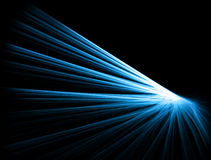 Abstract elegant design. Abstract fractal design in blue and black Stock Photography