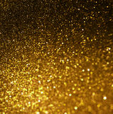 Abstract elegant gold background with copy space Royalty Free Stock Images