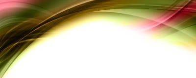 Abstract elegant panoramaontwerp als achtergrond Royalty-vrije Illustratie