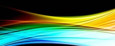 Abstract elegant panoramaontwerp als achtergrond Vector Illustratie