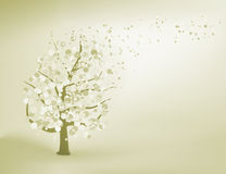 Abstract elegant tree. EPS 8 Royalty Free Stock Photos
