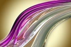 Abstract elegant wave background design. Illustration royalty free stock photography