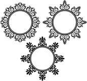 Abstract element voor een ontwerp royalty-vrije illustratie