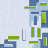 Abstract elements background-01 Stock Image