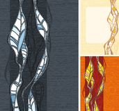 Abstract elements for the design. Background Royalty Free Stock Photography