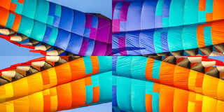 Abstract elements of kite for background Royalty Free Stock Photos