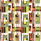 Abstract elements seamless pattern retro background Royalty Free Stock Images