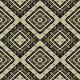 Abstract elements seamless pattern texture retro print backgroun Royalty Free Stock Photography