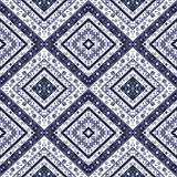 Abstract elements seamless pattern texture retro print background Stock Photo