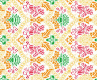 Abstract elephant ornamental pattern abstract background. Abstract ornamental pattern set pattern on anywhere Royalty Free Stock Images