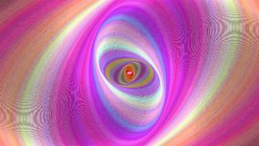 Abstract ellipse spiral background - seamless loop motion graphic. Design stock footage
