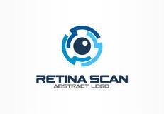 Abstract embleem voor bedrijf Het collectieve element van het identiteitsontwerp Royalty-vrije Stock Afbeelding