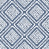 Abstract embroidery geometric tile seamless pattern. Tile shapes backdrop vector illustration