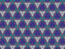 Abstract Embroidery patterns Stock Photography