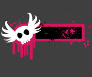 Abstract emo banner Royalty Free Stock Photos