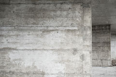 Abstract empty background.Photo of blank concrete wall texture. Grey washed cement surface.Horizontal image. stock image