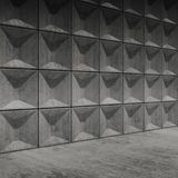 Abstract empty concrete room interior Stock Photography