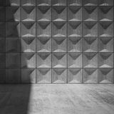 Abstract empty concrete room interior Royalty Free Stock Photos